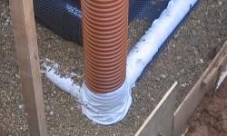пластиковые трубы для фундамента