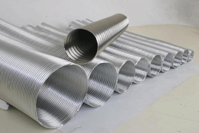 Алюминиевые гофрированные трубы