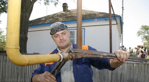 Своевольная врезка в газовую систему