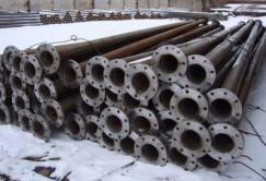 Трубы для водопровода и газопровода.