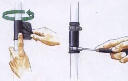Герметизация пластиковой трубы