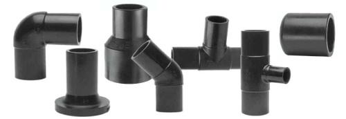 Литые фитинги для соединения пластиковых труб