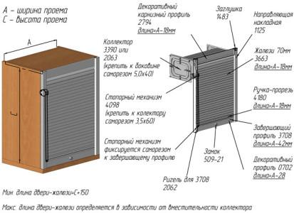 Маскировка труб шкафом-коллектором