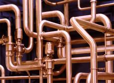 Срок службы медных труб до 50 лет