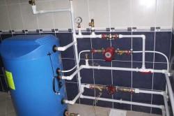 Отопительная система из полимерных труб