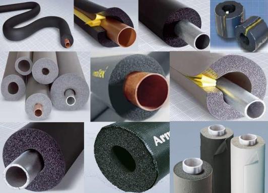 Материлы для  утепления труб