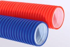 Гибкие двустенные трубы широко применяются для защиты коммуникаций - трубопровода, газопровода, а так же электрических, телефонных, телевизионных и компьютерных линий связи