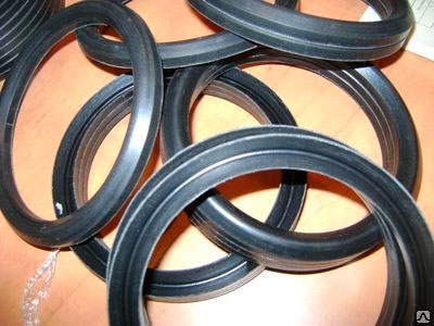 Манжеты по ГОСТ 22704-77. Кольца нажимные резинотканевые. С помощью манжет уплотняют штоки и цилиндры значительно больших размеров