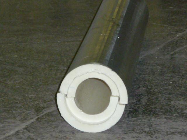 Пенополеуретановая скорлупа для труб