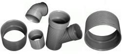 Соединительные детали для гофрированных труб