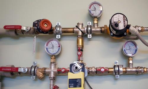 Встраиваемые приборы для измерения давления в трубах