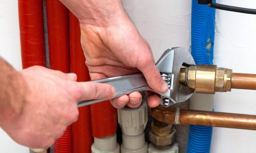 Замена водопровода в доме