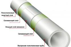 Устройство полиэтиленовой трубы низкого давления