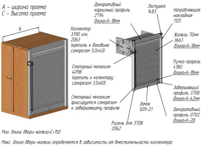 Схема маскировки труб в туалете шкафчиком-коллектором.
