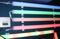 Пример применения поликарбонатных труб для освещения