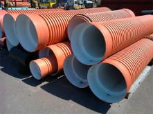 Дренажные трубы выполняют функцию водоприема и водоотведения