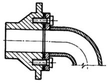 Флансевое соединение труб