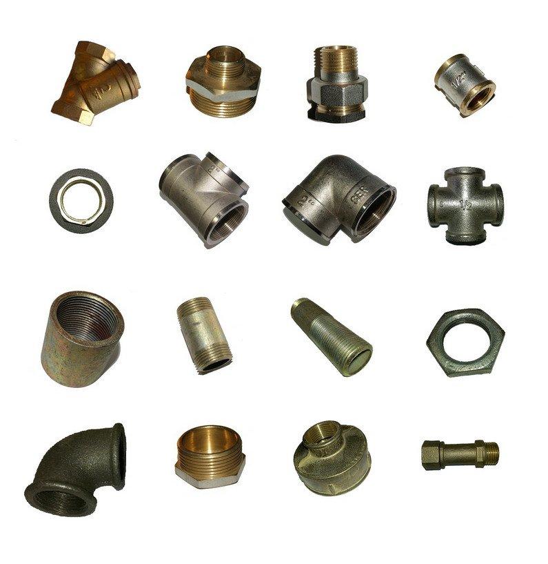 Соединенители водогазопроводных труб