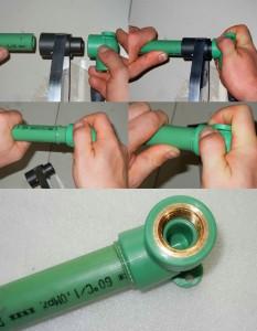 Сварка полипропиленовых труб, такой метод обеспечивает надежную герметичность всей системы газопровода или водопровода