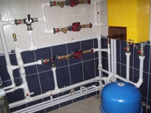 Использование полипропиленовых труб в системе домашнего водоснабжения