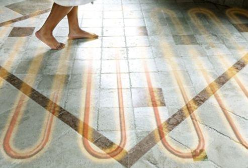 Теплый пол под кафельную плитку