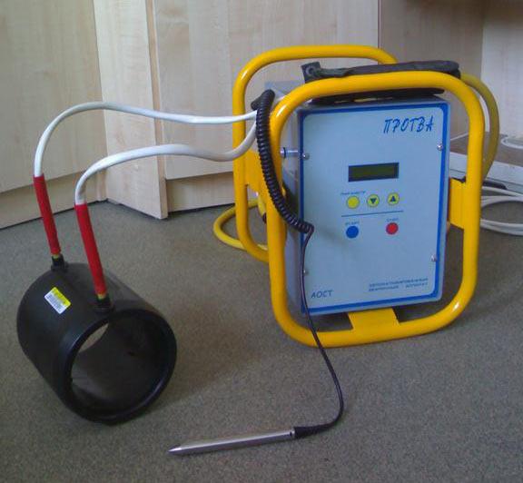 Аппарат электромуфтовой сварки
