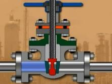 Принцып работы клиновой заглушки