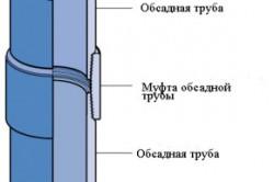 Монтаж обсадных труб