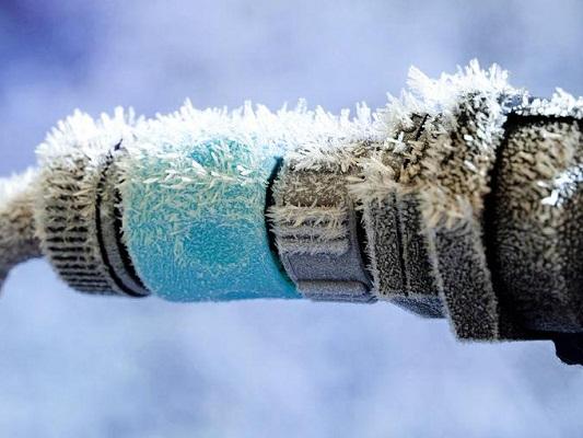 Подогрев водопроводной трубы